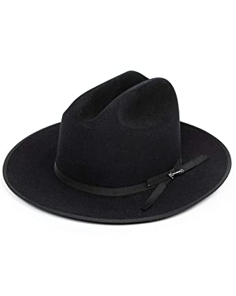 Stetson Open Road Hat Color Black at Amazon Men s Clothing store  73a9fa02ca6