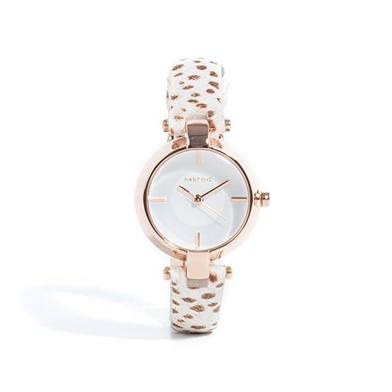 Parfois - Reloj Fur Strap - Mujeres - Tallas S - Beige