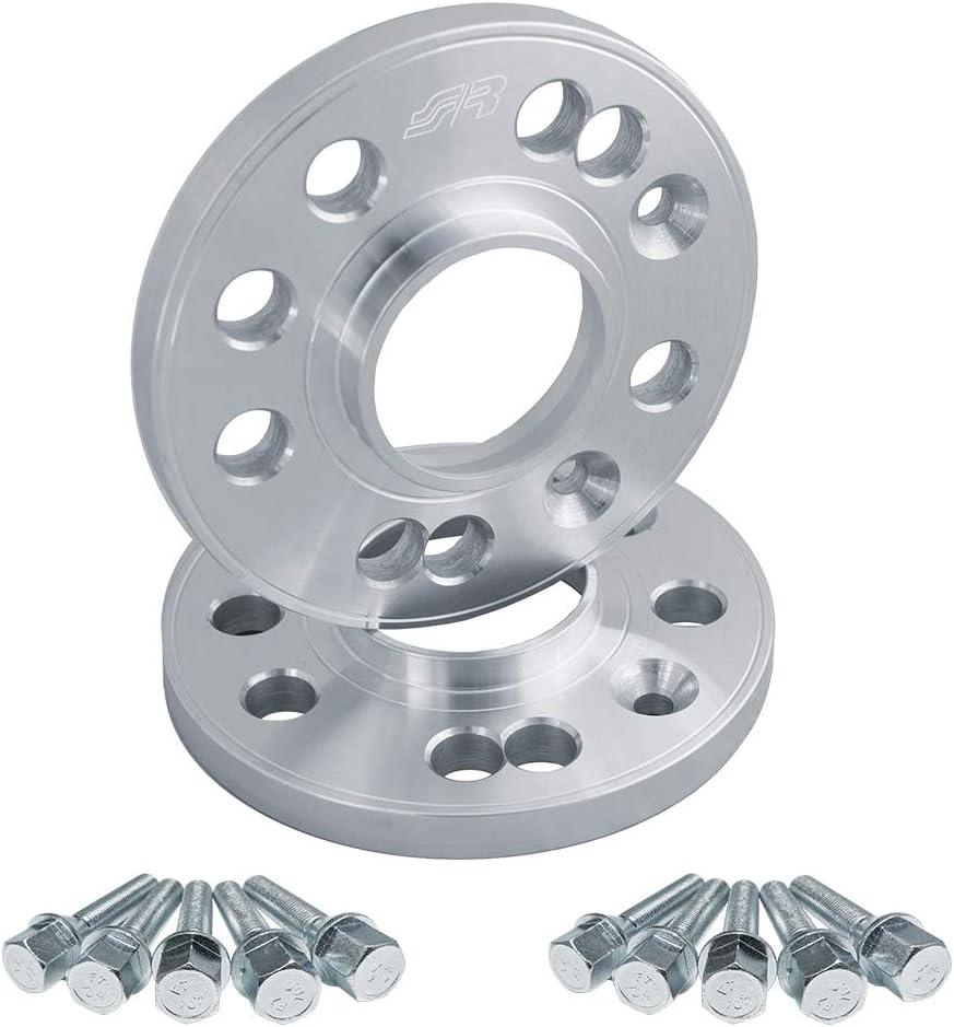 16 mm Simoni Racing DR044//B15 Distanziali Ruote Completi di Bulloni per Cerchi Originali Specifici