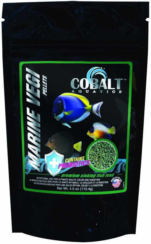 Cobalt Aquatics 25016 Marine Fish Food, 4 oz