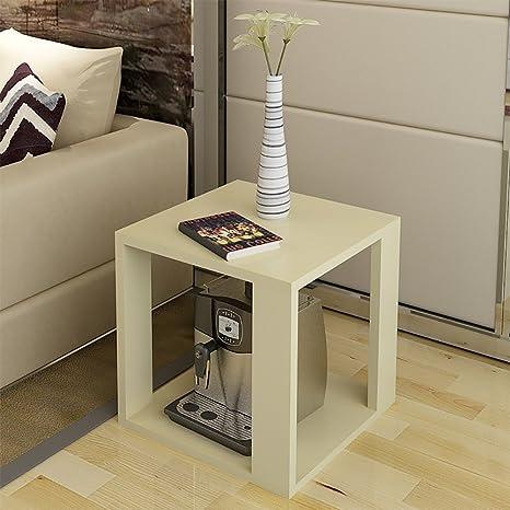 D&L Legna Impermeabile Tavolino da salotto, Quadrata Divano tavolino ...