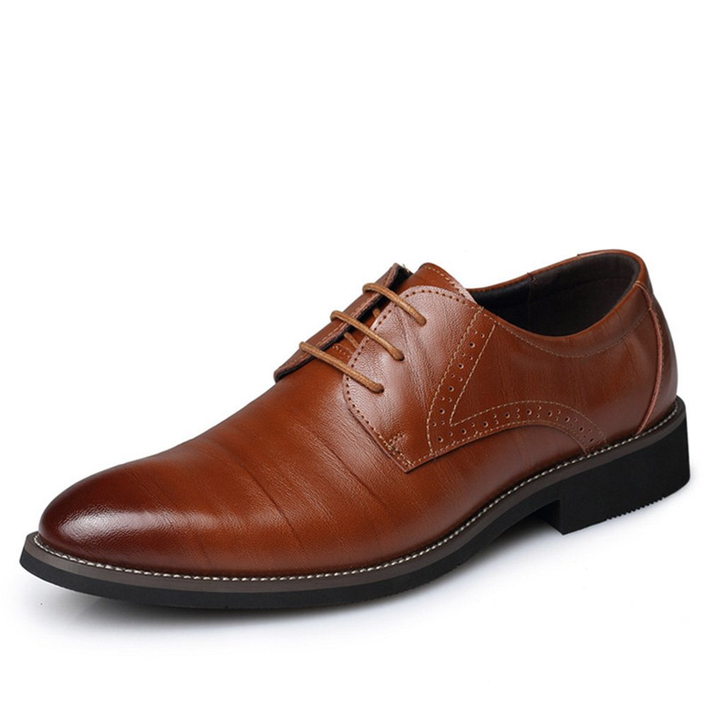 Phil Betty Mens Oxfords Shoes Lace-Up Business Dress Formal Shoes