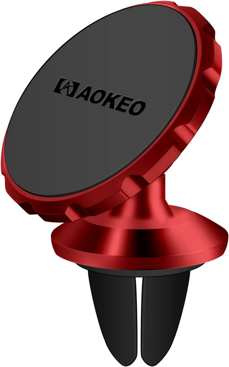 Other Smartphones Galaxy S5 S6 S7 S8 Aokeo Universal Air Vent Magnetic Phone Car Mount Huawei Google Pixel LG Universal Cradle Stand Holder Compatible with Phone 8 X 7 7P 6s 6P 5S black