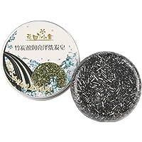 Caomoa Champú acondicionador de cabello jabón. (Bamboo charcoal)