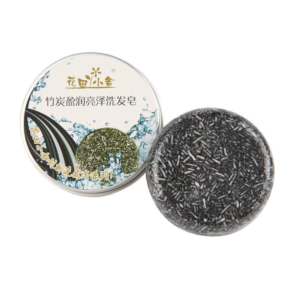 Bamboo charcoal J*myi Champ/ú acondicionador de cabello jab/ón.