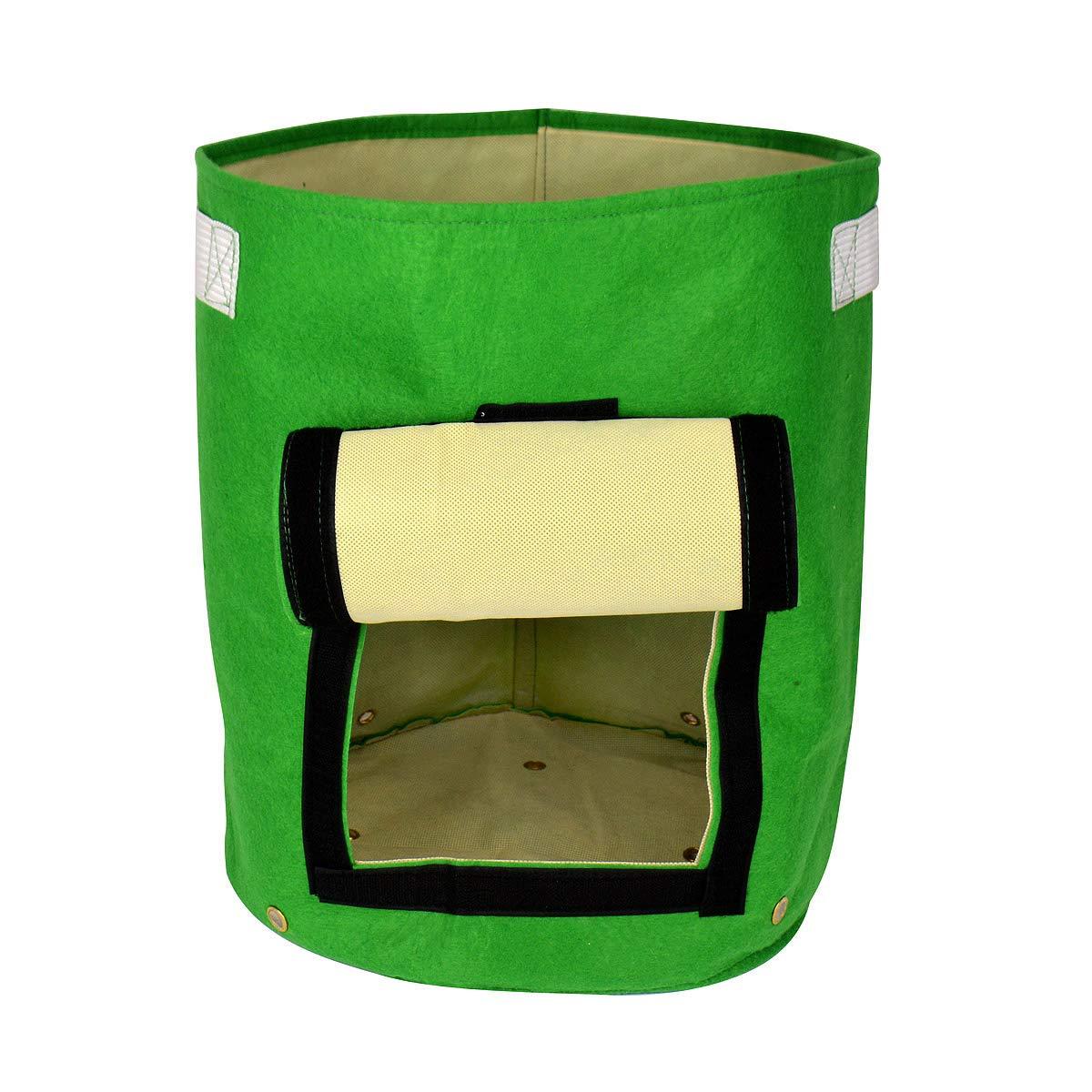Daul Layer Non-Woven Fabrics Potato Tub Grow Potatoes Patio Recycled Growing Bag Gardeningwill AHGRD000255