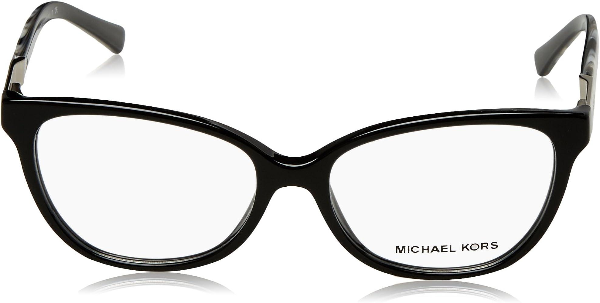 afea4853a6bb Women 0MK4029 Eyeglasses. Michael Kors ADELAIDE III MK4029 Eyeglass Frames  3120-51 - Black Metallic ...