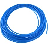 uxcell 15M 49.2Ft 4mm OD 2.5mm Inside Dia. Polyurethane Air Tubing Tube Pipe
