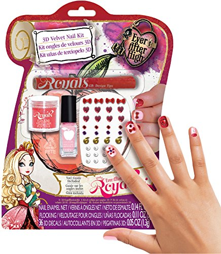 Ever After High Royal 3D Velvet Nail Kit ()