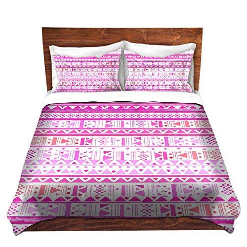 DiaNoche Designs Microfiber Duvet Covers Nika Martinez - Ethnic Bandana II (Bed Bandana Sheets)