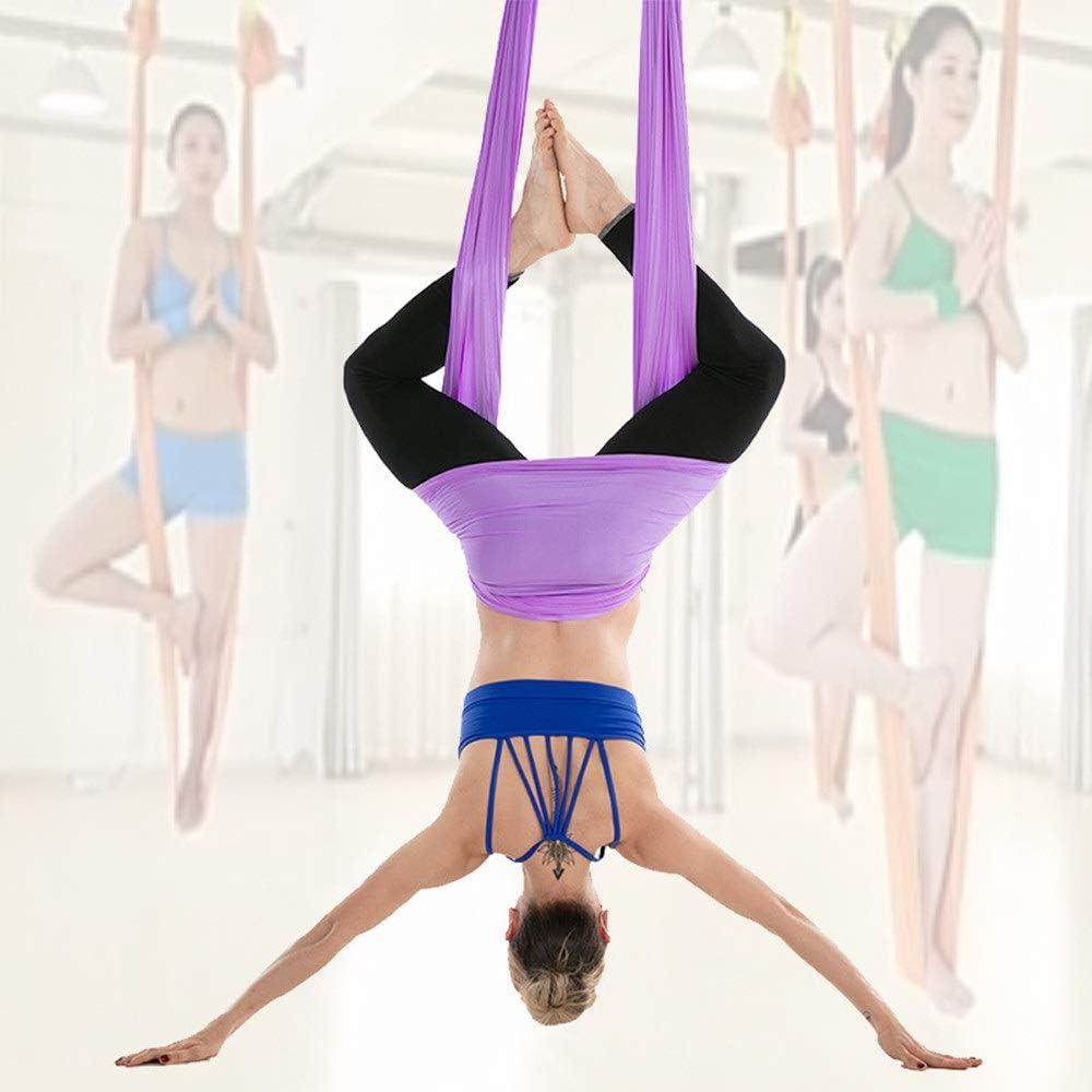 MICROSHE Hamaca de Yoga Centro de Yoga Anti-Gravedad Antena de ...