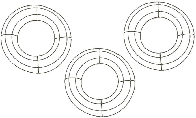 Amazon Com Green Wire Wreath Form