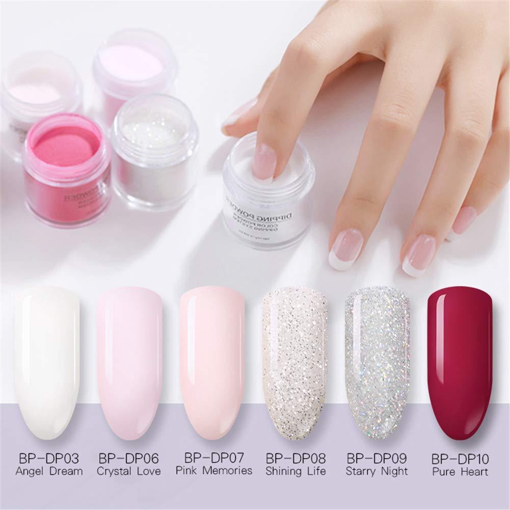Born Pretty Dipping DIP polvere senza lampada cure nail art per ...