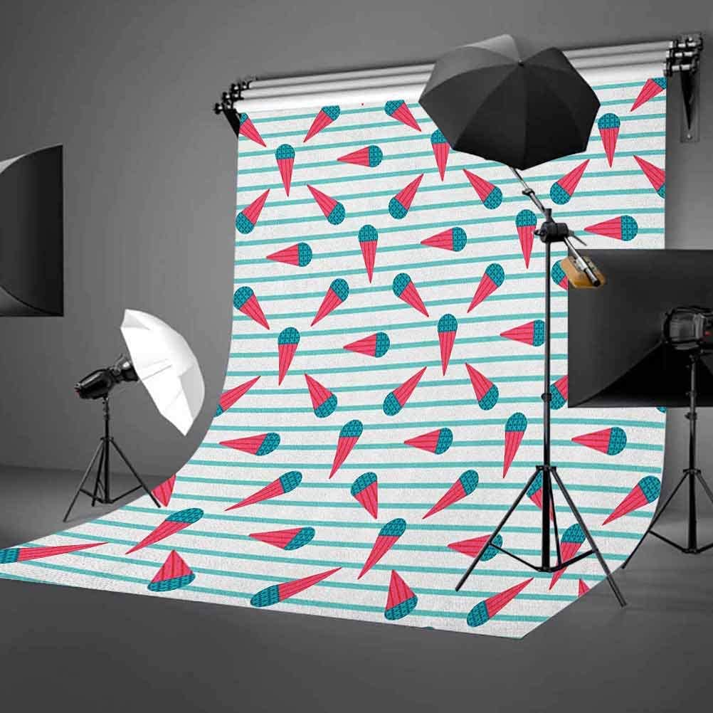 7x10 FT Vinyl Photography Background Backdrops,Circus Stripes Sunshines Through Cloudy Sky Traditional Performing Arts Theme Background for Child Baby Shower Photo Studio Prop Photobooth Photoshoot
