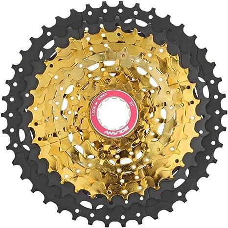 BOLANY MTB Cassette para Bicicleta de 9 velocidades, piñón Libre ...