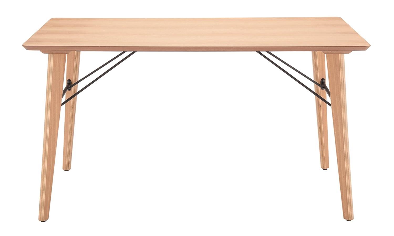 あずま工芸 ダイニングテーブル ANTE(アンテ) 135cm幅 ナチュラル TDT-1336 B07B7X59W2