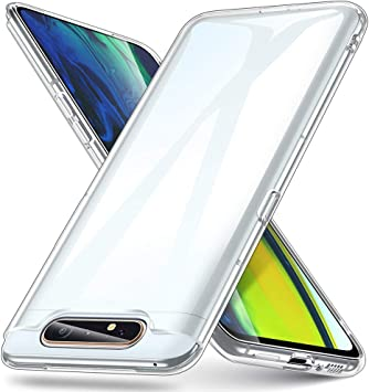 ESR Funda Transparente para Samsung A80, Slim de Suave TPU Carcasa ...