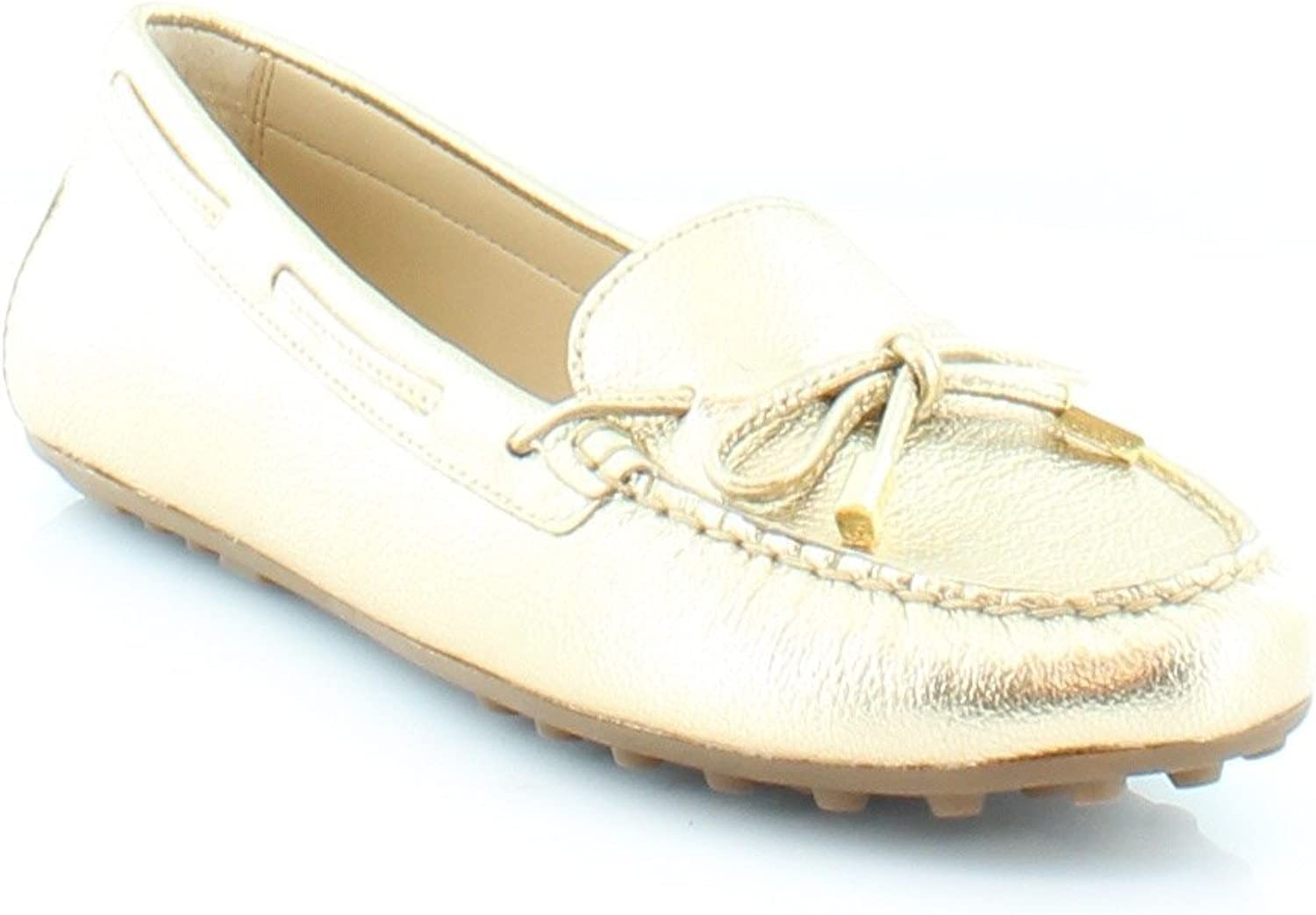 Daisy Loafer Pale Gold Leather