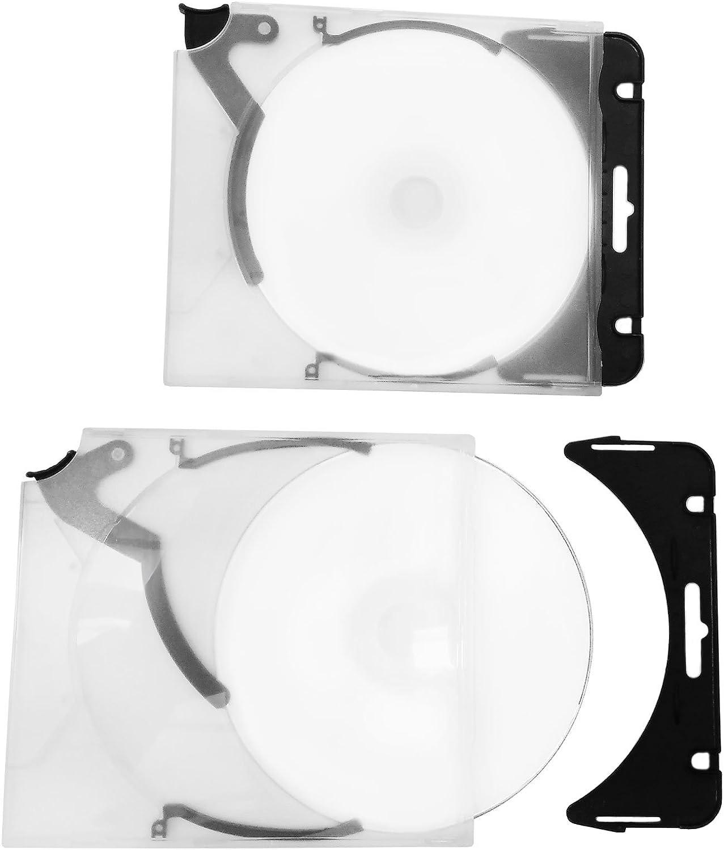 Ejector Cd Hüllen Zum Abheften Aus Pp Transparent Computer Zubehör