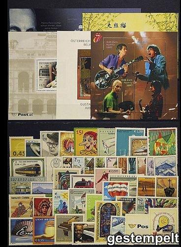 Goldhahn Österreich Jahrgang 2003 gestempelt Briefmarken für Sammler