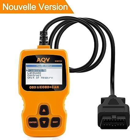 Scanner du lecteur de code OBD2 d/'outil de diagnostic de voiture