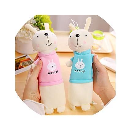 Amazon.com : 1 Pcs Kawaii Pencil Case Plush Rabbit Gift ...