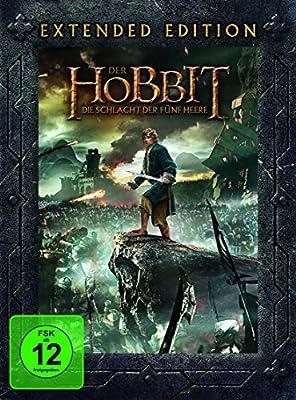 Der Hobbit Die Schlacht Der Fünf Heere Extended Edition 5 Discs