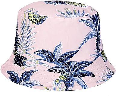 Giovacker Women Cotton Tie Dye Print Reversible Bucket Hat Packable Hat UV Protection