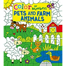 Color by Numbers: Pets and Farm Animals