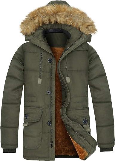 Parka Coats Mens Clothing