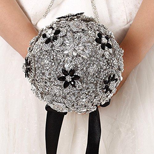 FAYBOX Handmade Jewelry Rhinestone Bouquets product image