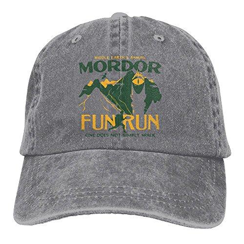 Cap Headgear Denim (Mordor Fun Run Adult Yarn-Dyed Denim Hat For Boy Female Unisex,Boy's Womens Sunbonnet)