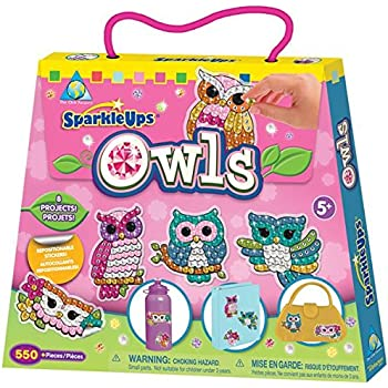 The Orb Factory Limited SparkleUps Owls