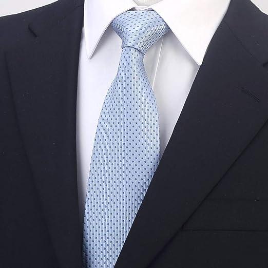 OHGQY Traje de Negocios de los Hombres Corbata de Rayas Corbata de ...