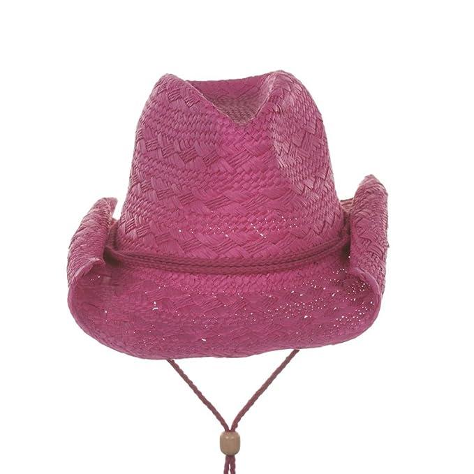 51c8625cba0 Amazon.com  Milani Women s Western Cowgirl Straw Hat  Clothing