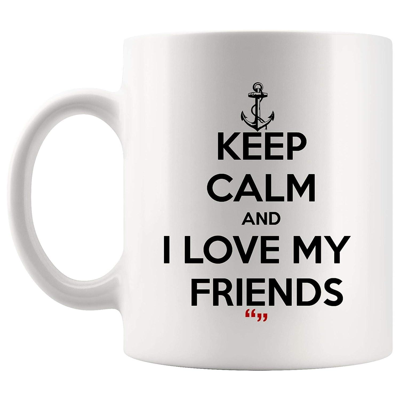 Amazon.com: Love Friends Best Friend Love Friendship Coffee ...