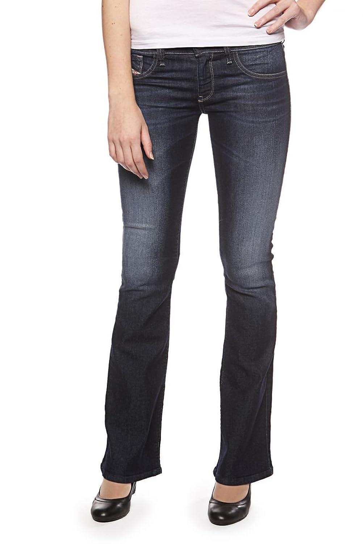 Women's Diesel LIVIER FLARE 0661A Skinny Low Waist Flare Jeans