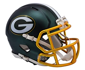 "Riddell ""Bay Packers Blaze Speed Casco, Verde, ..."