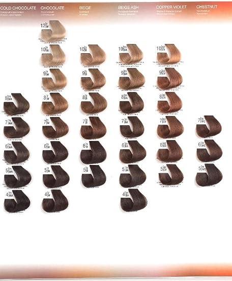 Tinte Permanente Spa Master 100ml (6.7 Rubio Oscuro Chocolate)