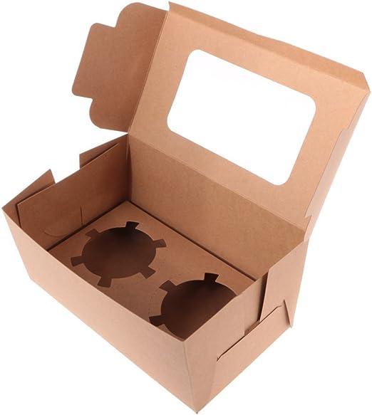 welim Cupcake cajas para tarta cajas de cajas de soporte para ...