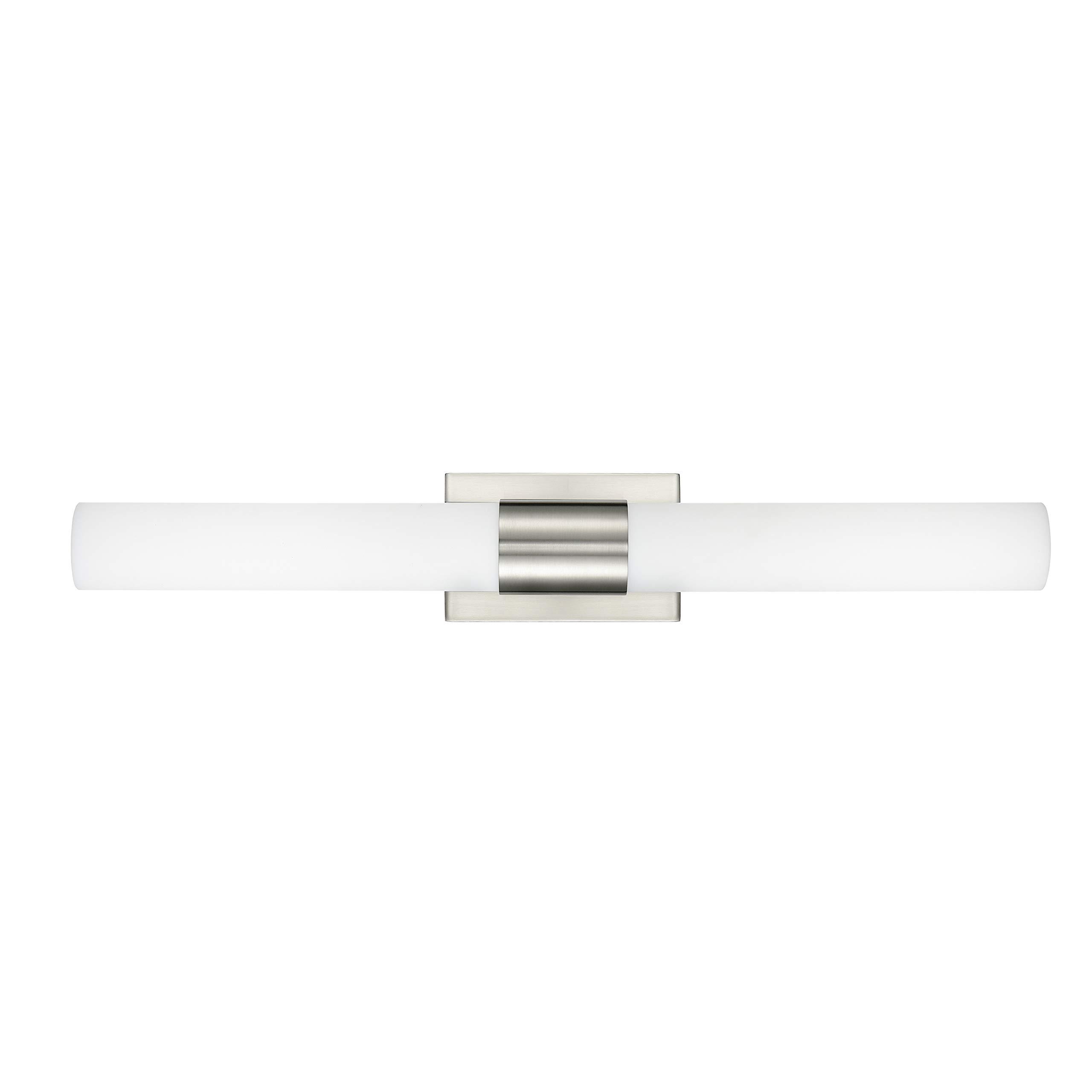 Perpetua 30 inch Integrated LED Bathroom Vanity Lights | Brushed Nickel Bathroom Light LL-SC1043-BN by Linea di Liara (Image #7)