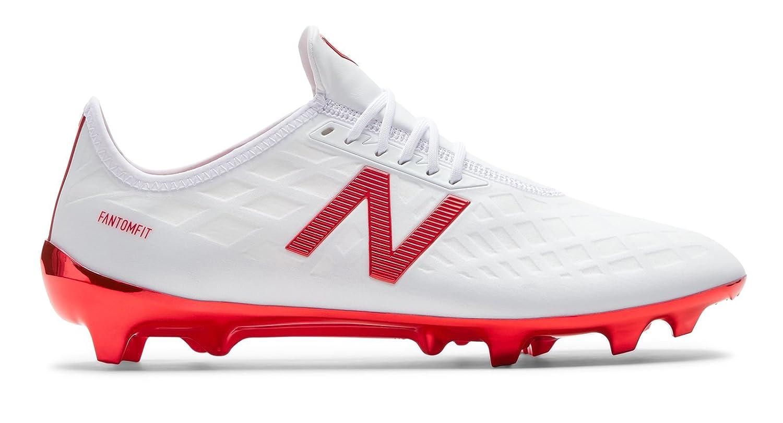 [New Balance(ニューバランス)] 靴シューズ メンズサッカー Furon 4.0 Pro FG White with Flame ホワイト フレーム US 10.5 (28.5cm) B07DYQMJ89