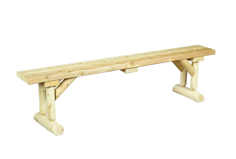 Amazon Cedarlooks 030020D Dining Table Bench Outdoor Benches Patio Lawn Garden