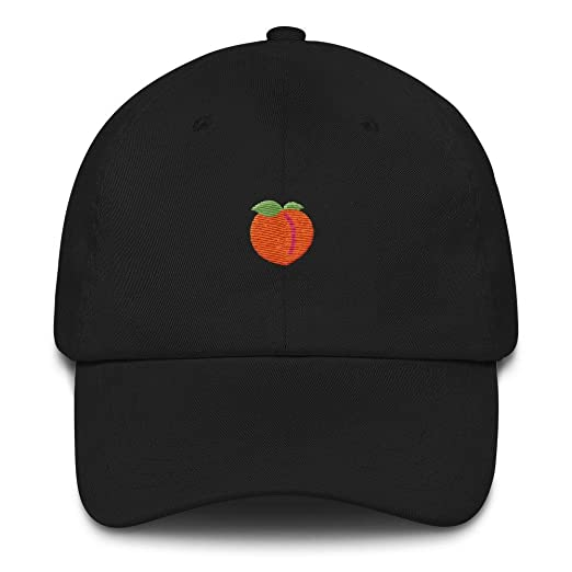 6fd12a79 Amazon.com: Elegant Tiger Peach Emoji Dad Hat: Clothing