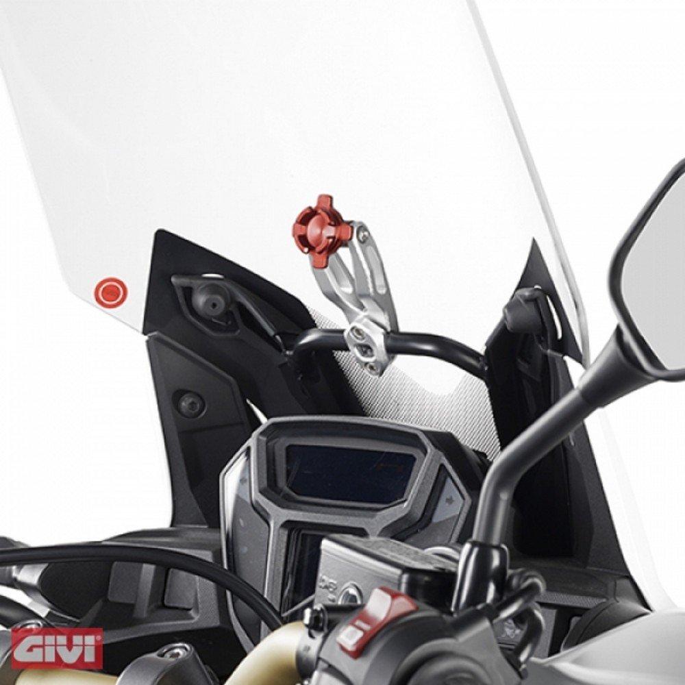 Givi, supporto per Smartphone, in alluminio anodizzato (S902 A) in alluminio anodizzato (S902A)