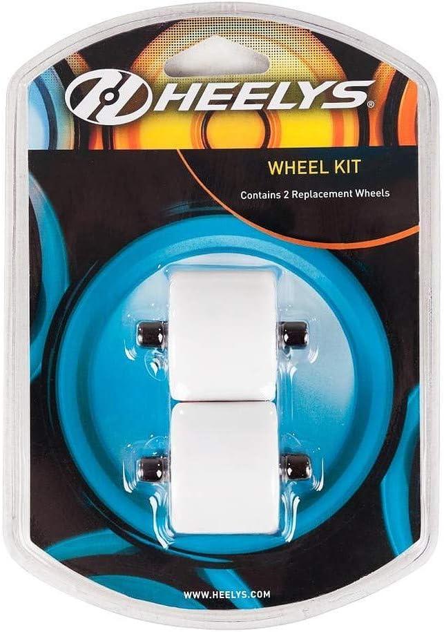 Heelys Ruote di Ricambio Z alle rotelle Fat Wheels Bianco Bianco