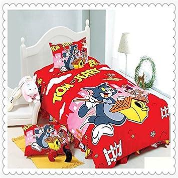 Haopiaoliang Tom Und Jerry Bettwäsche 4 Teilig Twinsingle
