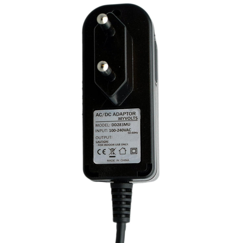 MyVolts Alimentatore//Caricabatteria da 9V Compatibile con Midi Controller Alesis Q25 Presa Italiana