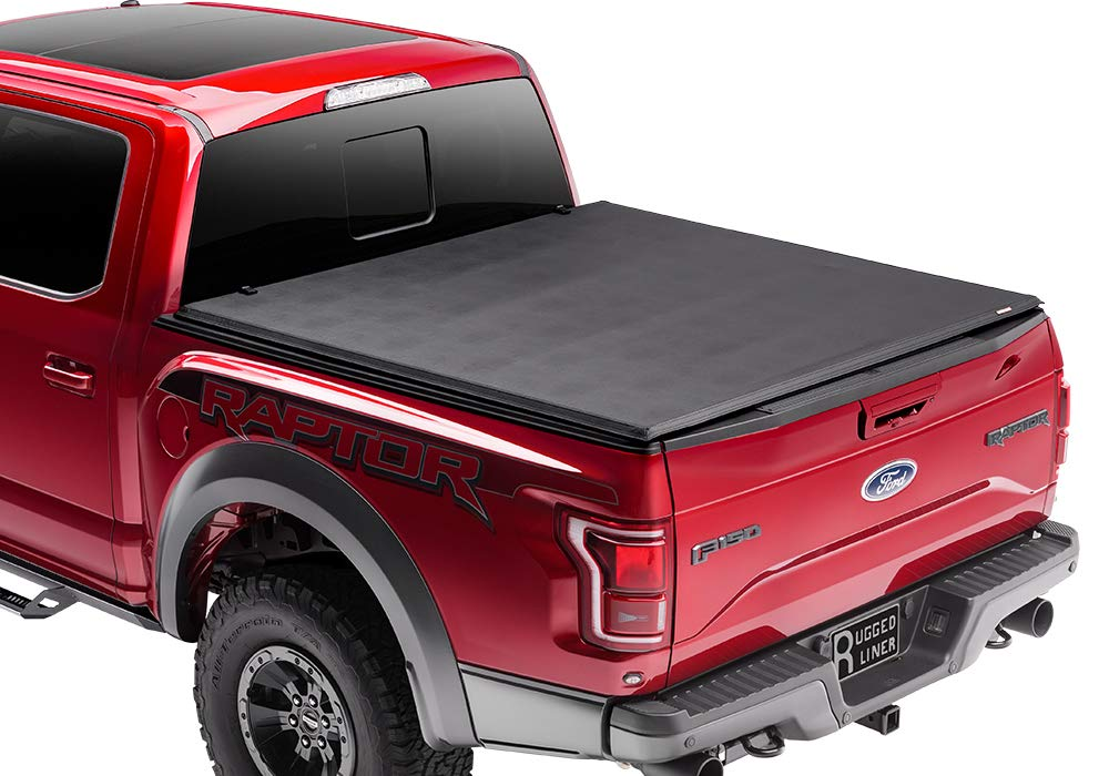 Rugged Liner FCC5504 Tonneau Cover for Chevrolet//GMC Pickup 5.5 feet Bed - Old Body Style