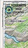 Yosemite High Country (Tom Harrison Maps)